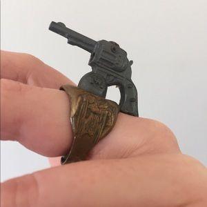 Jewelry - Vintage Lone Ranger Pistol Prize Ring
